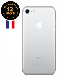 IPHONE 7 32Go Argent (12 mois)