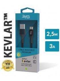 Câble USB vers USB-C 2,5m...