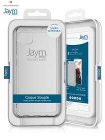"""""""JAYM"""" Coque transparente..."""