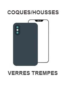 COQUES/HOUSSES & VERRES TREMPES HUAWEI