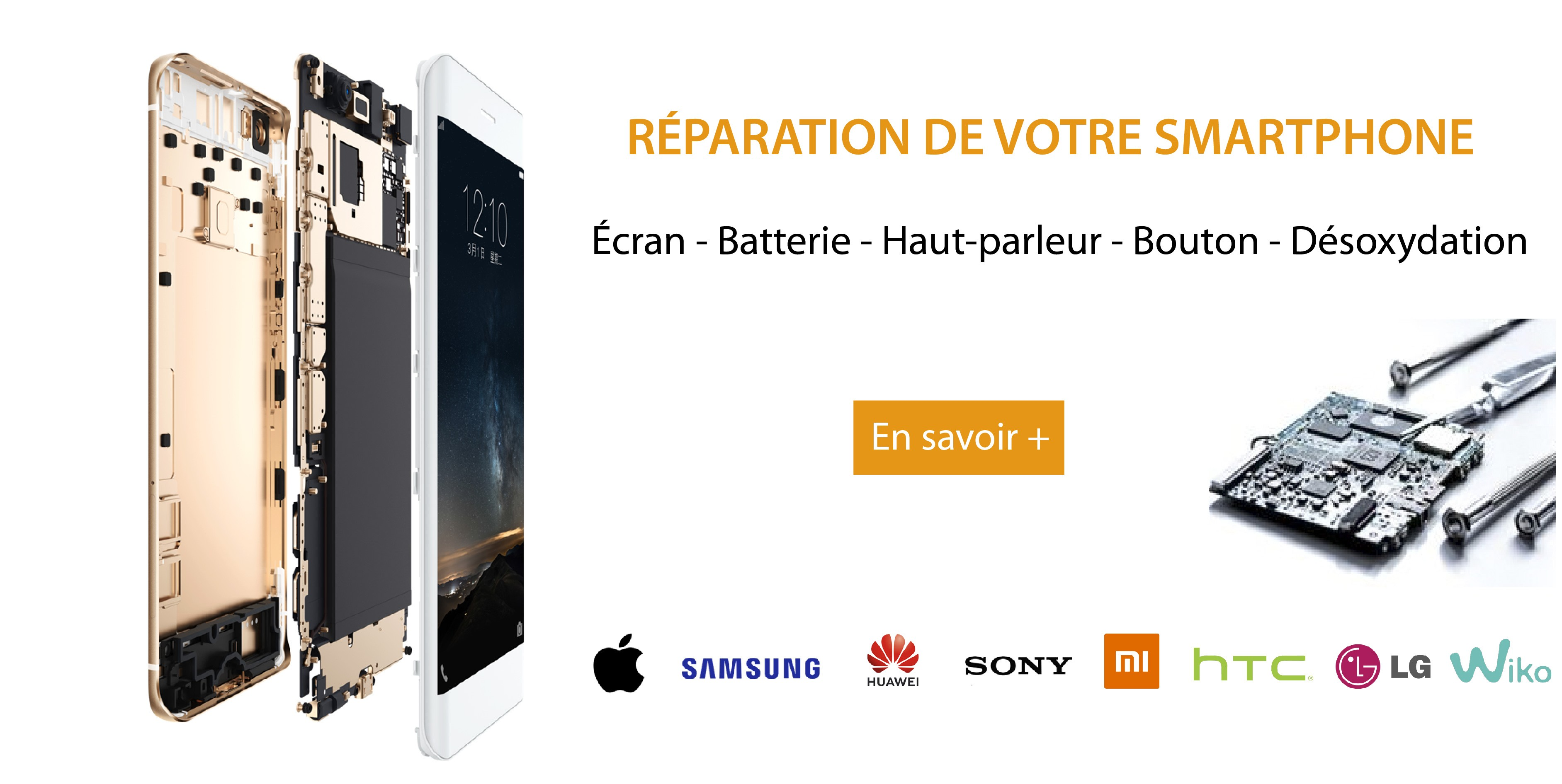 réparation smartphones Home-Mobile